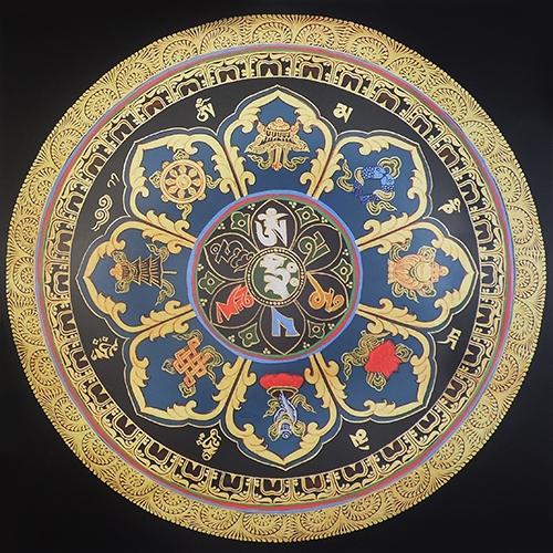 Восемь буддийских драгоценностей