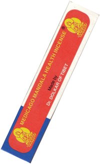 Благовоние Medicago Mandala Health Incense, 20 палочек по 12,5 см.