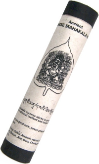 Ancient Bhutanese Mahakala Incense (Древнее бутанское благовоние Махакала), 19 палочек по 18,5 см.