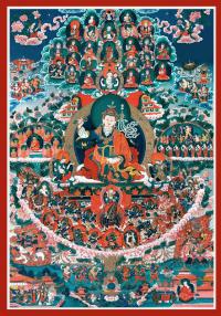 Супруга Лотосорожденного Жизнь и просветление Еше Цогьял - Чангчуб Нингпо